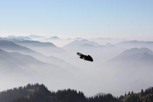 Oberaudorf im Nebel