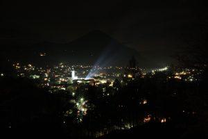 Oberaudorf bei Nacht