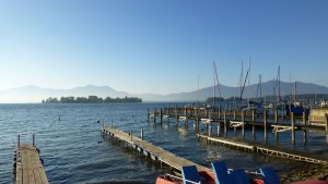 Chiemsee called (Bavarian Lake)